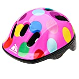 Baby Kids childrens Boys Cycle Safety Crash Helmet Small size (Dots, 44-48 cm)