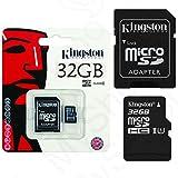 Original Kingston 32GB MicroSD Memory Card 32GB for Samsung Galaxy J5/J5Duos–