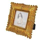 Giftgarden 4x4 Gold Photo Frames Elegant Picture Decor