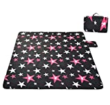 Skysper Picnic Blankets Outdoor Carpet Mat 200*200cm Large Waterproof Soft Foldable Camping Tote Light Compact Oversized Rug