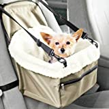 Car Seat CARRIER with Safety Belt for cats, pets, dogs KENNEL