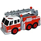 Matchbox Real Action Red Fire Truck With Lights and Sounds