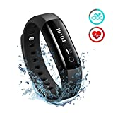 Waterproof Fitness Tracker, Mpow Heart Rate Monitor Waterproof for Swimming Activity Tracker Pedometer Smart Bracelet Wristband Sleep Monitor Smartwatch for Android & iOS Smartphones Like iPhone Samsung