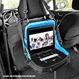 USA Gear DVD-NET 8'-10' Portable BluRay DVD TV Carry Case In-Car Headrest Mount Storage Bag with Adjustable Harness Straps & Storage Pockets
