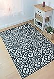 Lord of Rugs Modern Flatweave Grey in 3 Designs Rug in Various sizes Indoor - Outdoor Carpet (120x170cm (4'x5'6''), Anzio Grey)