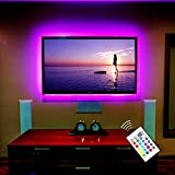 BASON USB Powered LED TV Back lighting for 32' to 46' TV / Flat Screen / Wall Mount Movie Theater LED Decor Strip Light