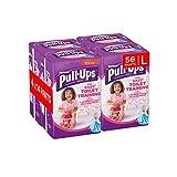Huggies Pull-Ups Potty Training Pants for Girls, Large, 56 Pants