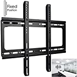 Safekom Flat/Fixed 3D TV Wall Bracket Mount Holder Stand For Television Monitor Screen LCD LED Plasma 26' 30' 32' 35' 37' 40' 45' 42' 50' 52' 55' Inches