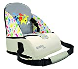 Asalvo Go Anywhere Little Dogs Design Booster Seat, Grey