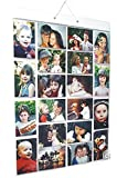 Picture Pockets PPR001 Large (Size A) Hanging Photo Gallery - 40 photos in 20 pockets (reversible) Flat Pack