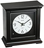 Seiko 'MANTEL-MUSICAL' Wood Shelf Clock, Color:Dark Brown (Model: QXW245BLH)