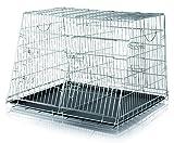 Trixie 3930 Transport Cage Double 93  68  79 cm
