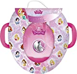 Disney Princess Girls Soft Padded Toilet Training Seat with Handles