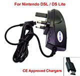 GENUINE CE Approved Nintendo DS LITE NDSL mains charger adapter uk 3 pin UK standard