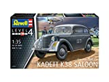 Revell 03270 German Staff Car Kadett K38 Saloon Model Kit, 1:35 Scale