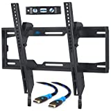 Mounting Dream TV Wall Mount Tilting Bracket for Most 26-55 Inch LED, LCD and Plasma TVs up to VESA 400 x 400mm and 40 KG, 6 FT HDMI Cable and Bubble Level included, MD2268-MK-02