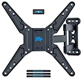 Mounting Dream TV Wall Bracket Mount for most 26-55 Inch LED, LCD and OLED Flat Screen TV with Full Motion Swivel Articulating Arm up to VESA 400 x 400mm and 27 KG with Tilting, MD2413-MX-02