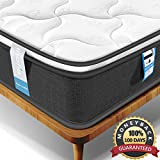 Inofia Single Mattress, Highly-breathable 3FT Pocketed Spring Mattress Pressure Relief with Zoned Support 8.7Inch Depth (100 NIGHTS TRIAL)