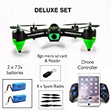 BEST DRONE WITH CAMERA - DELUXE SET XBM 57 FPV RC Quadcopter 1080P HD DRONES UK 12 MINS FLIGHT 1080P ADVANCED MODEL 24HR TRACKED