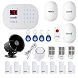 Fortress Security Store (TM) S03-B Wireless Home Security Alarm System DIY Kit with Auto Dial and Outdoor Siren