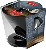 Melitta Pour Over Size 1x4, 6761018, Filter Holder, Used with 1 Jug or 2 Cups, Plastic, Black