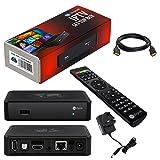 MAG 254 Original HB-DIGITAL IPTV SET TOP BOX Multimedia Player Internet TV IP Receiver with UK AC power plug + HB Digital HDMI cable