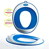 Toilet Training Seat - Kids Toilet Trainer Ring for Boys or Girls   Secure Non-Slip Surface - FREE Suction Cup Storage Hook