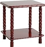 Seconique Brunton Lamp Table - Mahogany e Effectffe Effectct