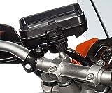 Ultimateaddons Motorcycle M10 Handlebar Clamp Bolt Mount with Dedicated Holder for Tomtom Rider v5