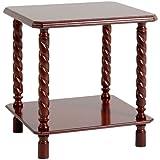 Seconique Brunton Lamp Table In Mahogany FREE DELIVERY