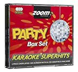 Zoom Karaoke CD+G - Party Superhits - Triple CD+G Karaoke Pack