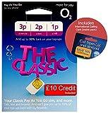 O2 (2G/3G/4G) UK & EUROPE Trio SIM PAYG £10 (convert to Bundle - 250 mins, 1000 Texts +2GB Data) + International Calling Card - (Love2surf RETAIL PACK)