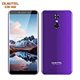 OUKITEL C8 Smartphone Unlocked 4G Android 7.0 with 5.5' HD Screen(18:9) - 13MP+5MP Camera - 2GB RAM + 16GB ROM - MT6737 Quad Core - 3000mAh Battery - Fingerprint - Dual SIM Mobile Phones (Purple)