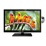 24' Inch Full HD Ready 1080p Digital Freeview LED TV DVD Combi Combo USB PVR, HDMI, Scart, VGA