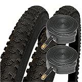 Impac Ridgepac 26' x 2.10 Mountain Bike Tyres with Schrader Tubes (Pair)