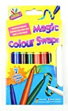 10 Magic Colour Swap Pen Set Colouring Girls Boys Children Gift Art Crafts Party