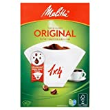 Melitta Genuine Original Coffee Filter Papers, White, Pack of 80 X 4