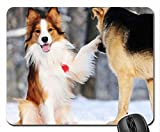 Ray and Tramp Mouse Pad, Mousepad (Dogs Mouse Pad)