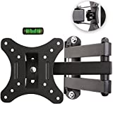 TRESKO Universal TV Wall Mount Bracket Tilt & Swivel for LED / LCD / Plasma / TV flat screen / 3D / Curved VESA Braket approx. 35,6 – 76,2 cm (14 – 30'') VESA 75x75 – 100x100