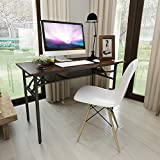 Need Folding Computer Table 120 x 60 cm Computer Desk Training Table Home Office Table, Black AC7CB