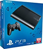 PS3: New Sony Playstation 3 Slim Console (500 GB) - Black Playstation 3 PS3