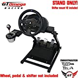 GT Omega Steering Wheel stand PRO for Thrustmaster T300RS & TH8A shifter PRO V2