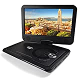 Portable Dvd Player Headrest In Car Dvd Players-13.8 inch Color TFT LED DVD with Remove Control Swivel screen and Rechargeable Battery Run For 2500mAh 5 hours, Can Read SD Card USB Hub MP5 MP4 RMVB AVI,MPEG