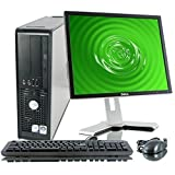 Dell Optiplex 755 SFF Desktop Wifi Pc Bundle - Intel Core 2 Duo @ 3.0ghz - 4gb RAM - 250gb HDD - Windows 7 Pro 64bit - With 17' LCD Dell Monitor - Dvd- Small Form Factor Pc