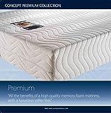 Concept Premium 4000 Double Memory Foam Mattress Double 4'6. Excellent Orthopaedic Support