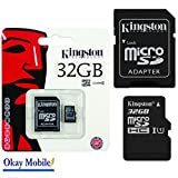 Original Kingston 32GB Micro SD Card Memory Card For Samsung Galaxy J3 Duos (2016)