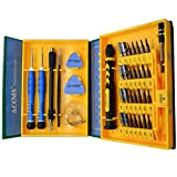 ACENIX S2 Alloy Steel Material 38 in 1 Precision Screwdriver Repair Tool Kits for Tablets, Laptops, PC, Smartphones iPad iPhone 6 5s 5c 5 4 Replacement Screens