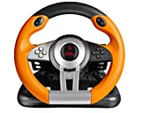 iChoose Limited Speedlink Drift O.Z. USB Steering Wheel/Wired Driving Controller/For Windows, Laptop PC Gaming/iCHOOSE