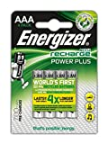 Energizer Power Plus AAA Rechargeable Batteries - Pack of 4
