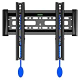 Invision Ultra Slim TV Wall Bracket Mount for LED LCD & Plasma Screens VESA 200x200 Maximum *Please Check Your TV VESA Mounting Holes Before Purchase* Best fit for 17 to 40 Inch TVs (200-F)